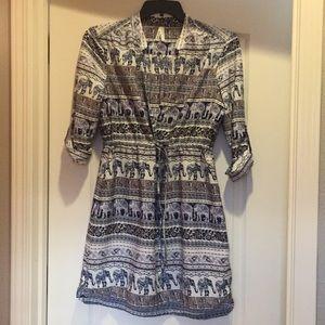 Worn only twice XL soft poly dress with Pockets!